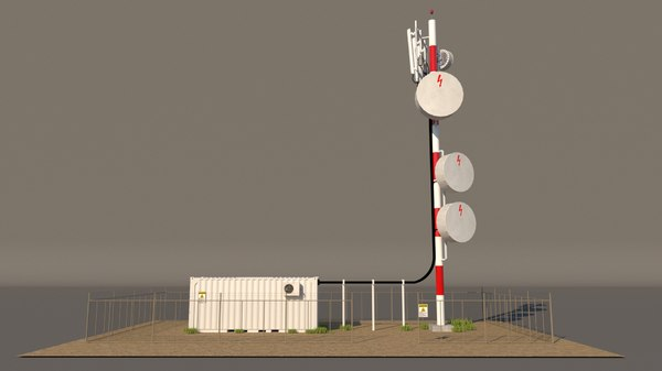 3D cell tower phone