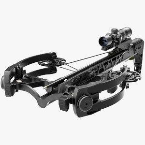 3D crossbow generic arrow scope model