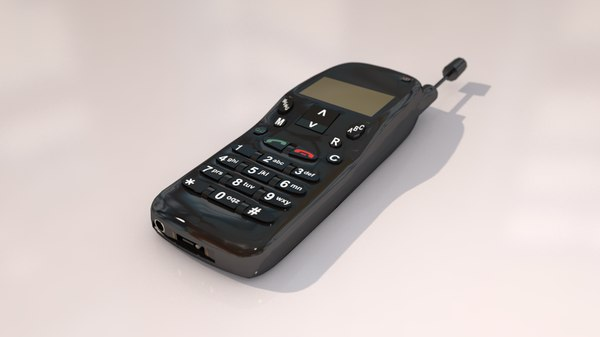 nokia mobile phone 3D