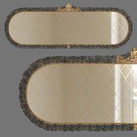 3D mirror oval