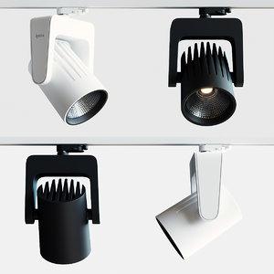 3D model lystra vinci l track light