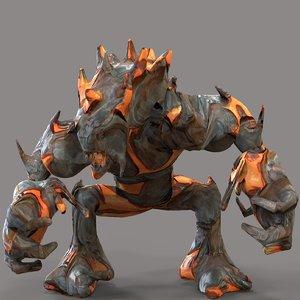 monster magma model