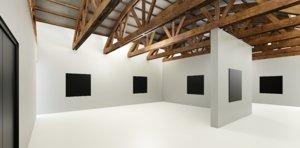3D vr art gallery