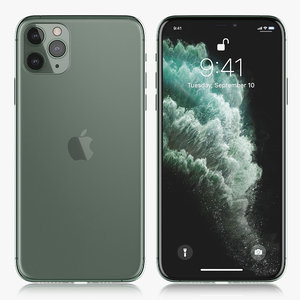 3D model apple iphone xi