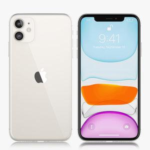 apple iphone xir 2019 3D