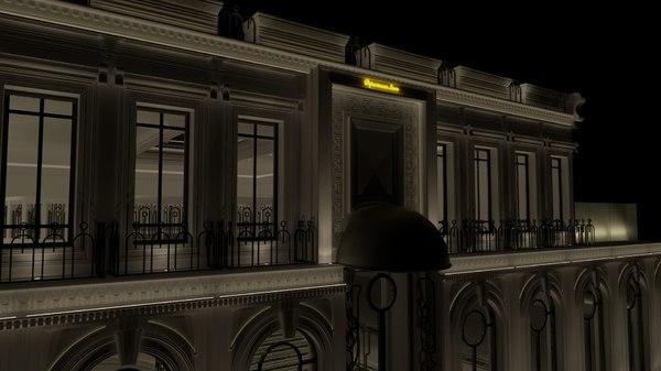 classic department store 3D model