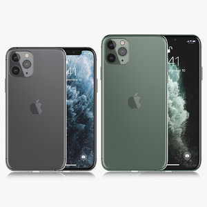 apple iphone xi 2019 3D model