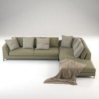 Ray sofa corner
