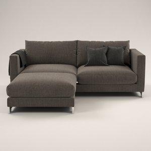 molteny sofa design 3D