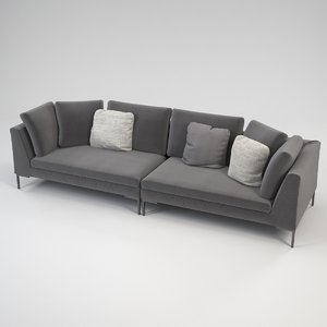 lipende sofa design 3D model