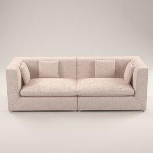 3D fabulla sofa design