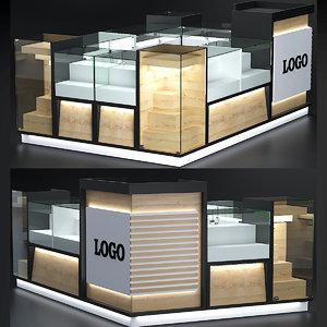 mall kiosk model