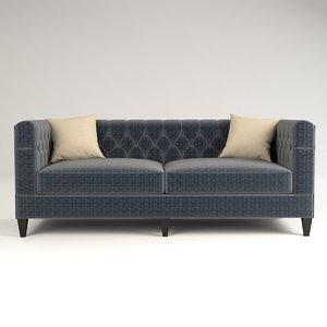 bernardes sofa design 3D model