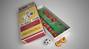 subbuteo table soccer football model
