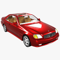 3D mercedes-benz 600 model