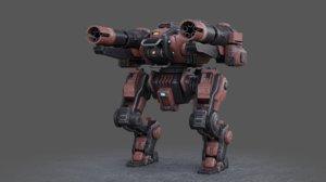 mech m01 3D model