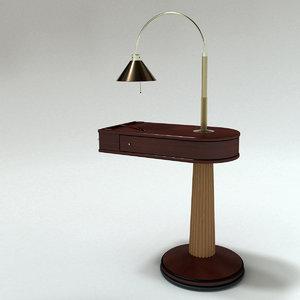 3D talo night-table designed