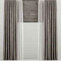 curtains tulle model