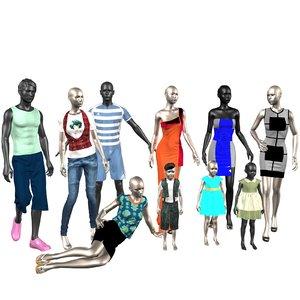 mannequin man 3D