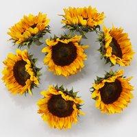 3D flower sunflower brown model