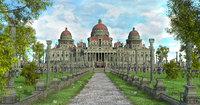 dome palace model