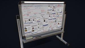 gas board 3D