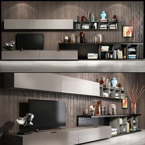 alf tv wall set 3D