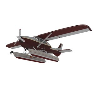 3D model raf air aircraft