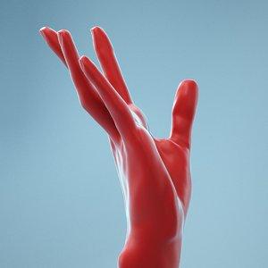 female hand model