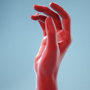3D female hand model