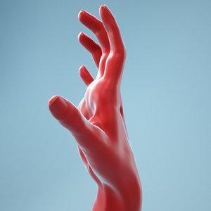 female hand 3D