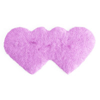 faux fur carpet hearts 3D model