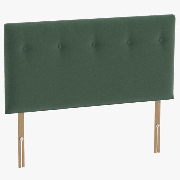 3D headboard 08 mint model