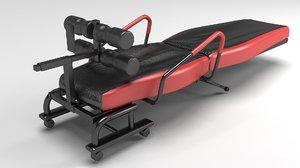 exercise equipment 3D