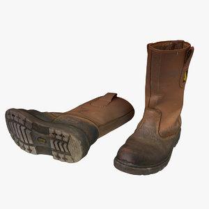 rigger boots builders model