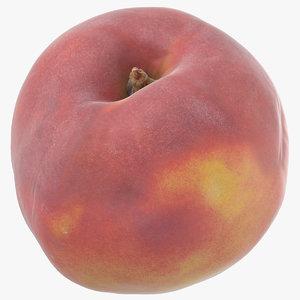 3D model peach 03