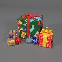 3D set holiday model