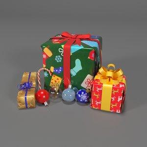 3D set holiday model
