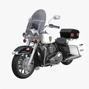 harley-davidson police bike model
