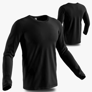 long sleeve shirt 3D
