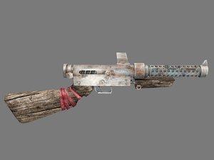 old gun sten smg 3D model