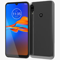 Motorola Moto E6 Plus Polished Graphite