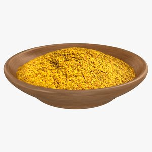 curry spice 3D model