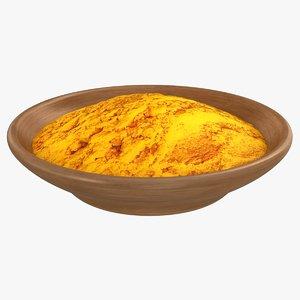 turmeric spice 3D model