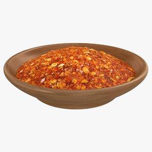 chili spice 3D model