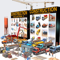 3d model construction pack