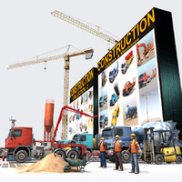 3d model construction pack