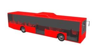 bus autobus model