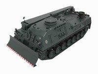 bergepanzer 2 leopard 3D model