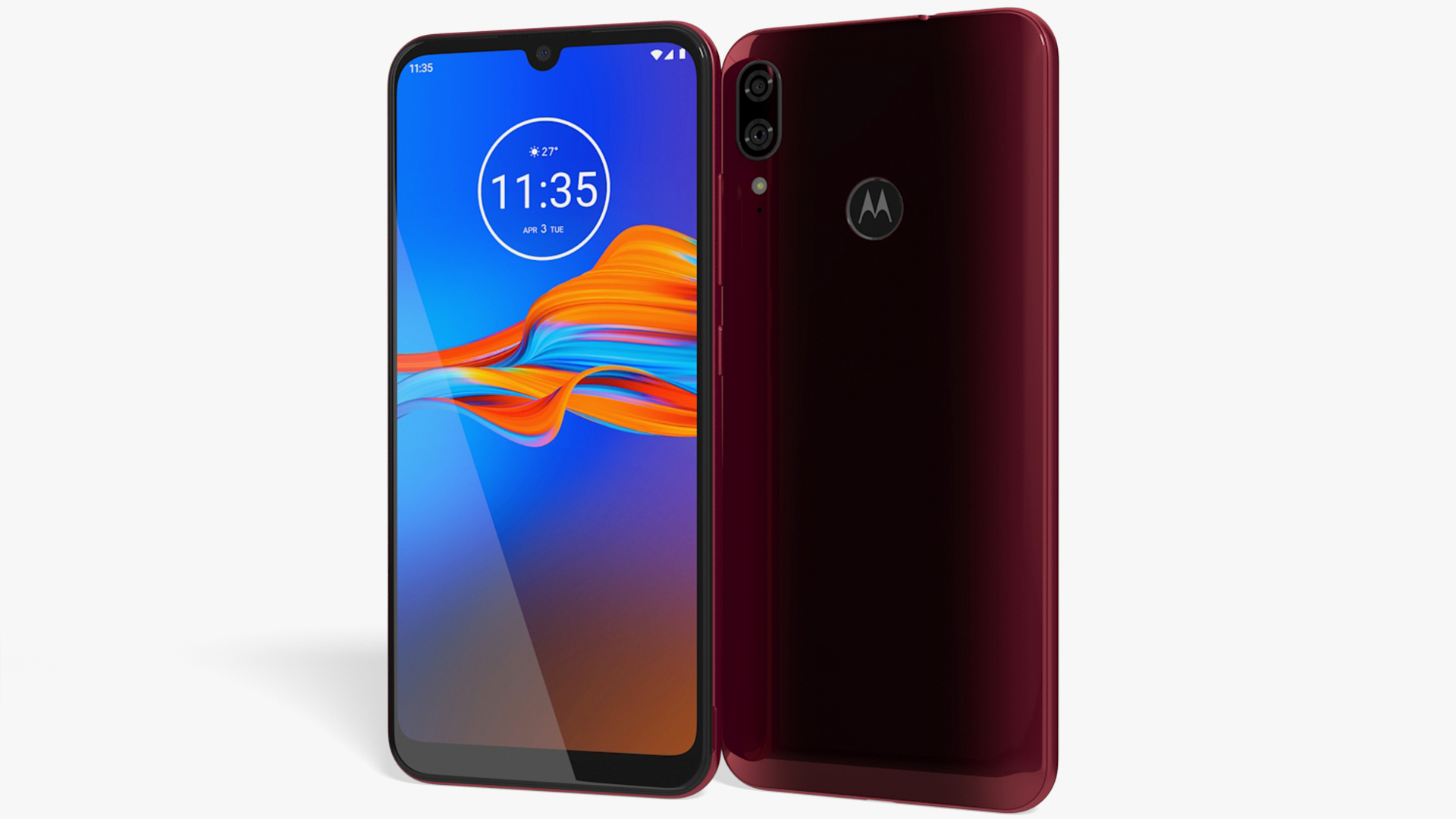 Motorola Moto E6 Plus Dark Red